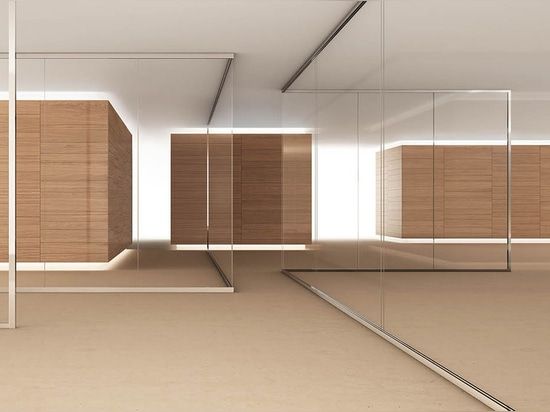 TL41 Glass removable partition