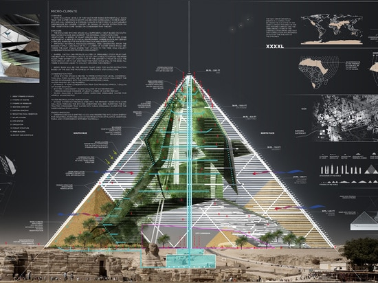 Bio-Pyramid turns Egypt's ancient pyramids into a gigantic desertification-fighting skyscraper