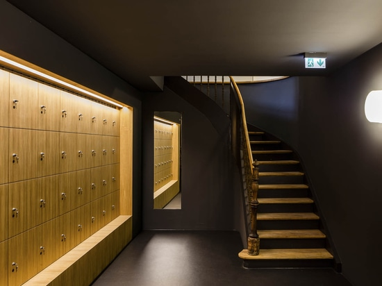 ...and underground exhibition spaces...