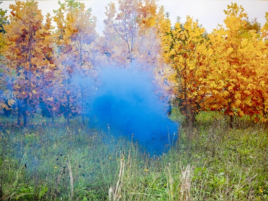 "his community...so utopian in its essence: so free and open and levelling and just really beautiful"", Rafael Schacter, curator of ""Venturing Beyond"". (Image: Filippo Minelli, ""Shape D_Z"", 2012)"