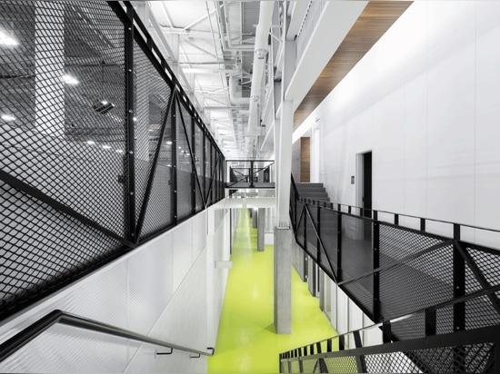 CCM2 + CLC Architects, Complexe sportif Marc‐Simoneau. Photo: Dave Tremblay