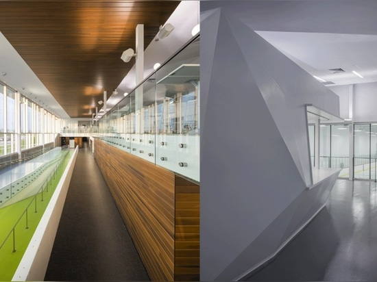 CCM2 + CLC Architects, Complexe sportif Marc‐Simoneau. Photo: Stéphane Groleau