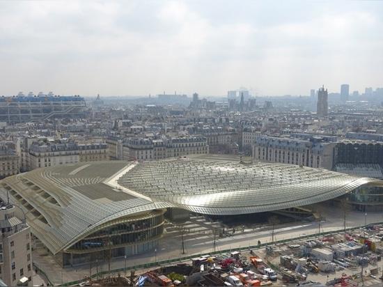 Berger Anziutti Architects, La Canopée des Halles