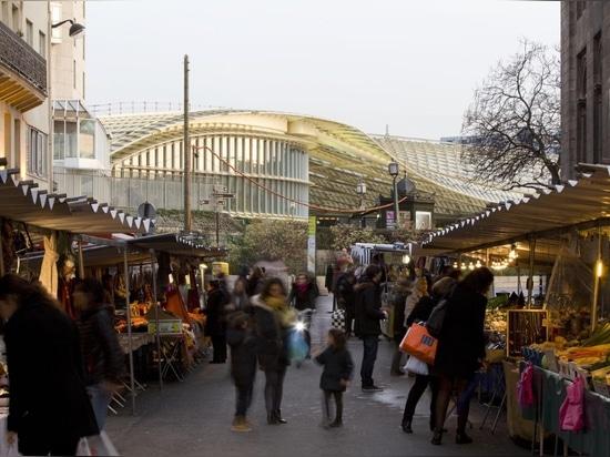 Berger Anziutti Architects, La Canopée des Halles. photo Marchand et Meffre