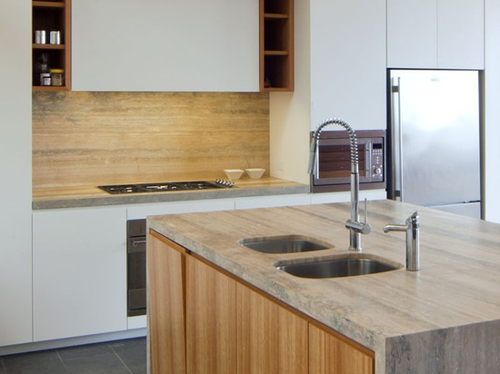 Kitchen designed by Pike Withers Interior Architecture and JLD Architects.