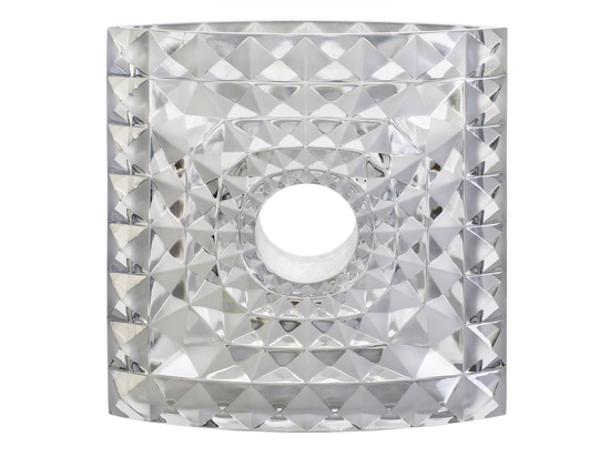 Mario Botta is the latest architect to design a vase for French crystal house Lalique