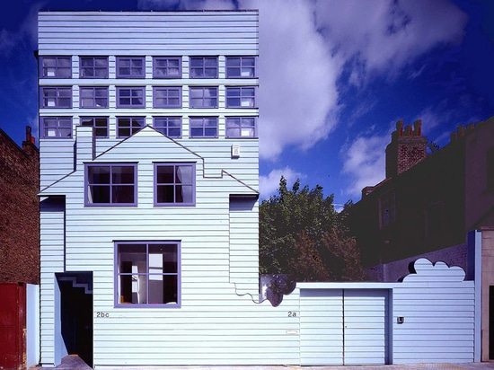 "FAT described the Blue House as ""one of the most important houses built this century"". Photograph by Adrian Taylor"