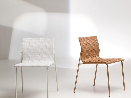 Zebra chair, by Area Declic