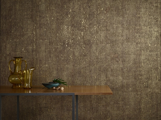 NEW: printed cork wallpaper by Omexco
