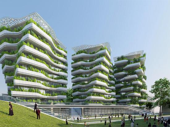 Vincent Callebaut's City of Science in Rome is turning a former military district into a self-sufficient urban ecosystem    Read more: Vincent Callebaut's City of Science in Rome is turning a forme...