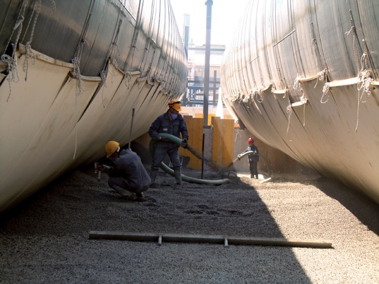 Tank insulation, protection and support