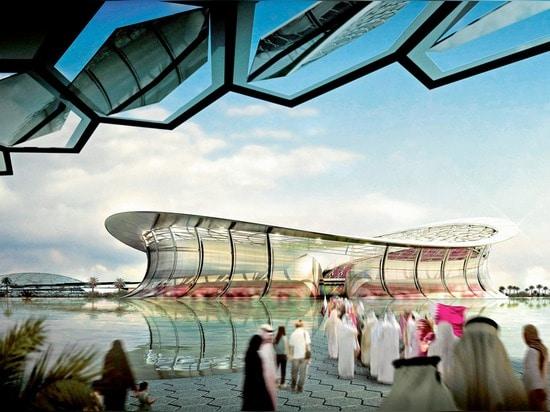 Foster + Partners wins Lusail Stadium job for Qatar 2022 FIFA World Cup