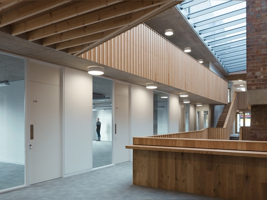 Old London shoe-polish factory transformed into charity offices by Architecture 00