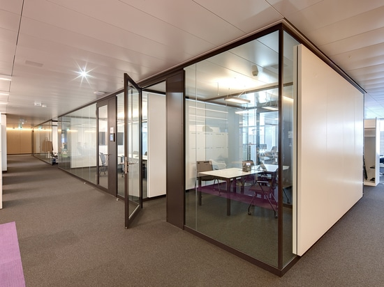 Regulating room acoustics with Lindner Partition Systems