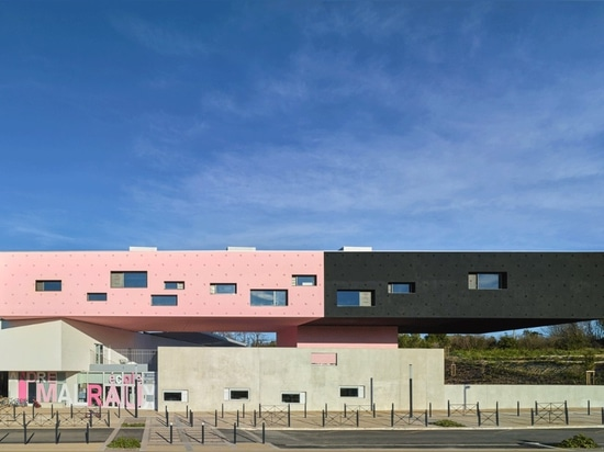 Dominique Coulon & Associés, André Malraux group of schools in Montpellier, 2015