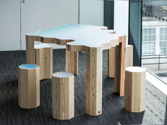 Waste not: Bloomberg proves that one office's trash is a designer's treasure