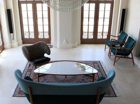 Furniture designs by Finn Juhl