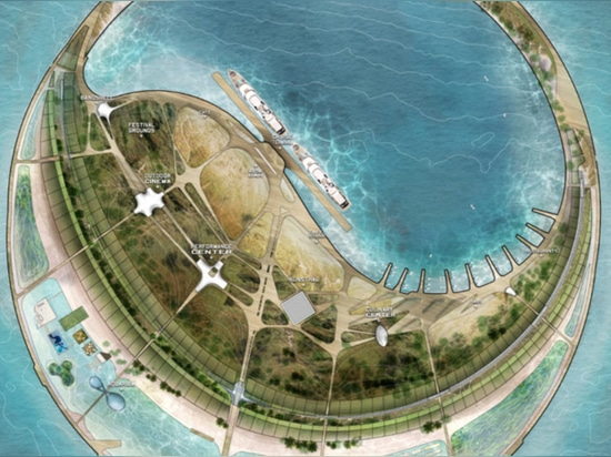 Diller Scofidio + Renfro wins competition to design China's artificial Eco-Island