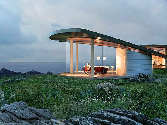 Beautiful Sea Song home in California is completely self-sustaining
