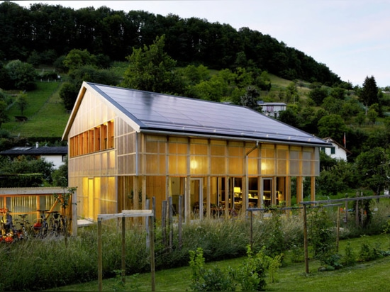 Solar-powered Casa C is an affordable prefab home for a family of five