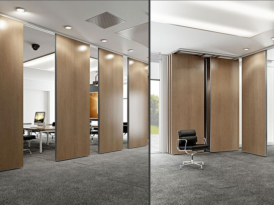 Movable partition Rolling Wall