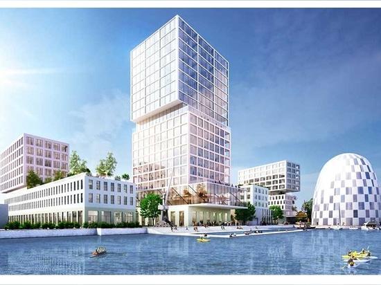 MVRDV chosen to implement vast hamburg innovation port masterplan