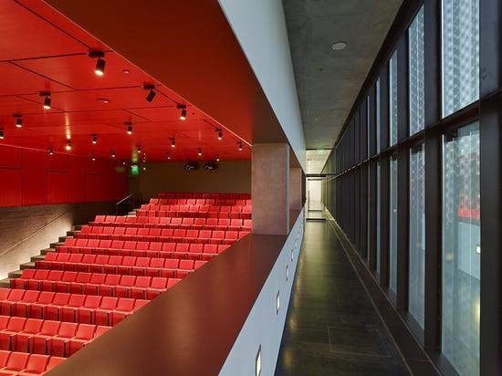 New 200-seat auditorium ( Photo © : Timothy Hursley )