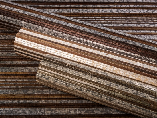 New: Capiz and wood on non-woven backing