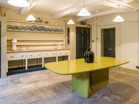 Barber and Osgerby and Jasper Morrison furnish previously unseen kitchen at Soane Museum