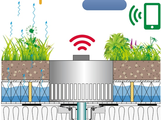 s Downloads Press Current News Fairs Downloads Press Private Customers Photo Archive INNOVATIVE RAINWATER MANAGEMENT: WEATHER APP CONTROLS DRAINAGE FROM GREEN ROOF  Around 74 hectares of natural sp...