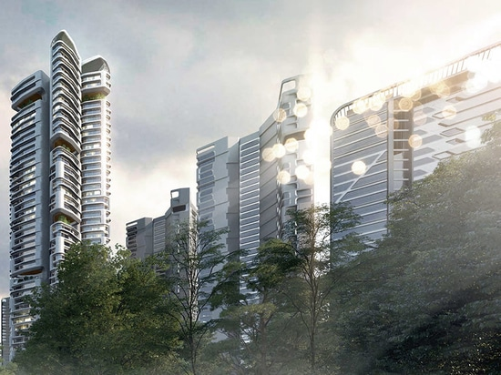 UNStudio to masterplan vast 32-tower eunma housing development in seoul