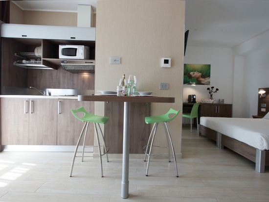 Residence Vimercate by Mobilspazio Contract