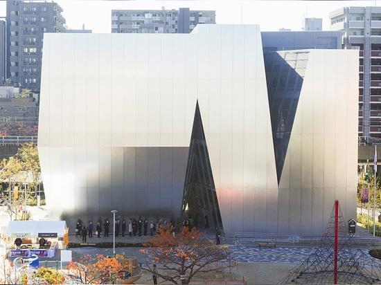 new images document kazuyo sejima's sumida hokusai museum in tokyo