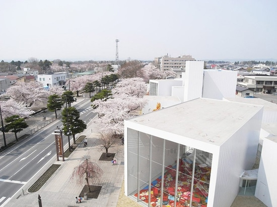towada art center by ryue nishizawa is making the entire city one art space