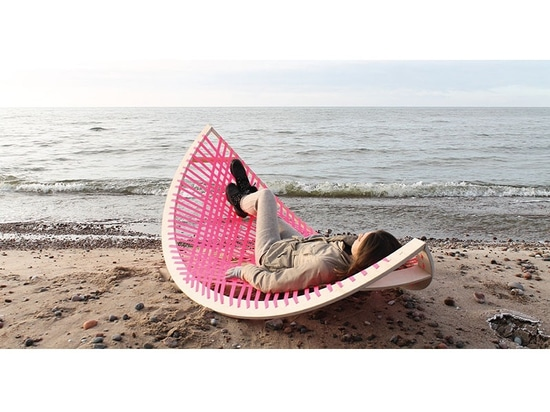 This Outdoor Hammock Rocker Is Designed To Also Be A Soccer/Football Goal