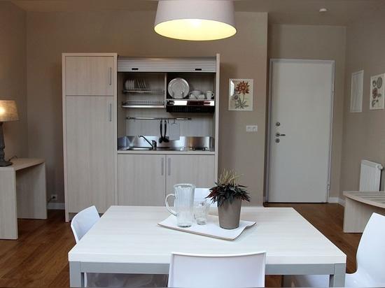 Mini apartments in Czech Republic - Mobilspazio Contract Made in Italy