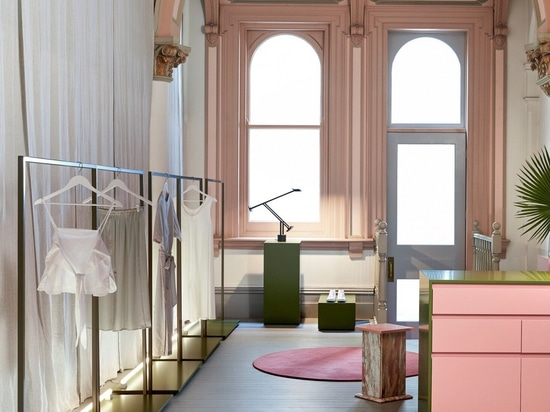 Pink for Prayer: Monk House Design's New Melbourne Store by Flack Studio