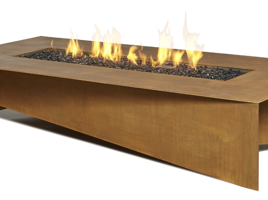 Fold fire table