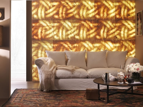 What about choosing marble wall coverings to create warm spaces?