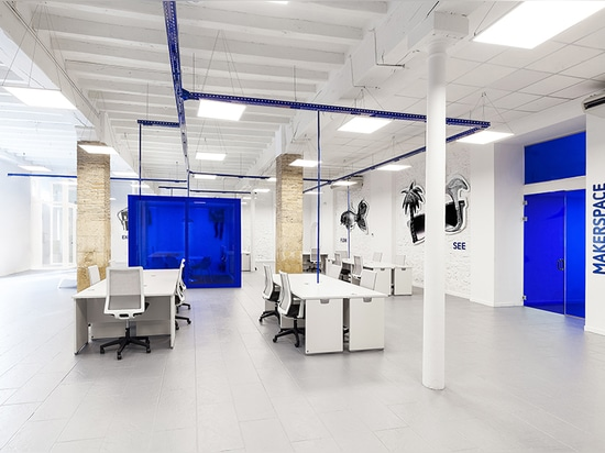 wanna one creates knowhere, a never-before-seen office hub in alicante