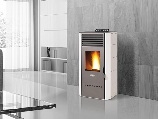 Innovative BIO Pellet Stove, with integrated Healthsystem to purify the air