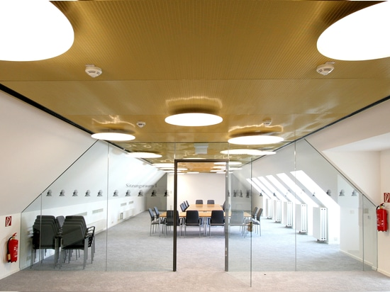 GKD develops 3D ceiling system from composite mesh