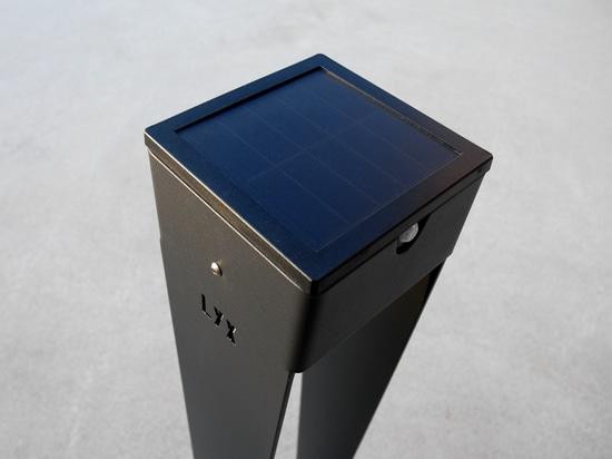 solar lamp BTS 900 charcoal grey