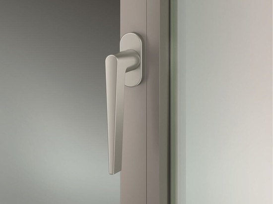 Good looks down to the last detail: FSB Window handles for narrow profiles