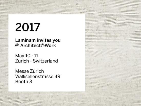 LAMINAM at ARCHITECT@WORK SWITZERLAND