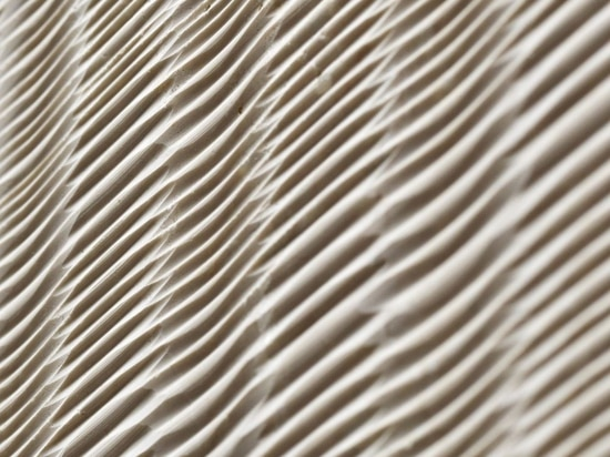 """The """"fibra"""" marble wall covering  from the """"Cesello"""" collection"""