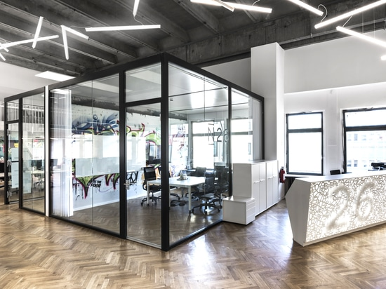 N26 headquarters in Berlin by TKEZ