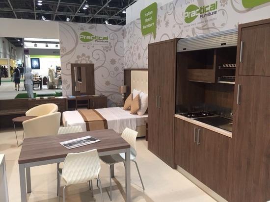 Mobilspazio at the Dubai Index Exhibition