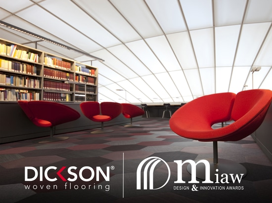 Dickson wins MIAW award for its new woven flooring collection