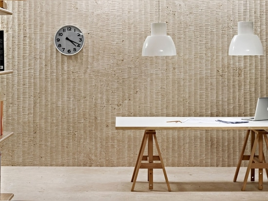 """Our """"tratto"""" wall covering from the """"Le Pietre Incise"""" collection."""
